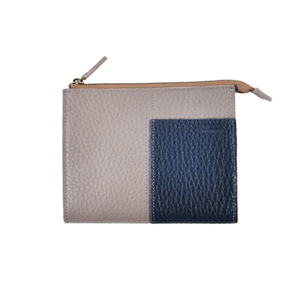 Two tone Wallet_M (dark gray / navy)