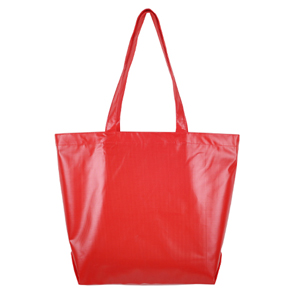 Primary Color Tarpaulin Bag (red)