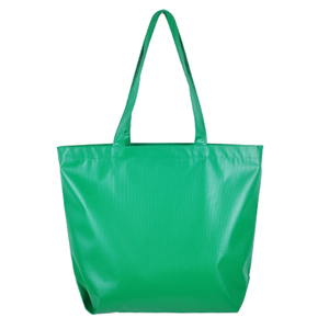 Primary Color Tarpaulin Bag (green)