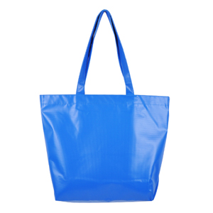 Primary Color Tarpaulin Bag (cobalt)