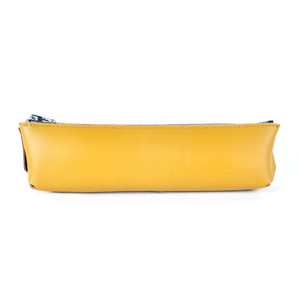 TRASHION_Pencil case_mustard