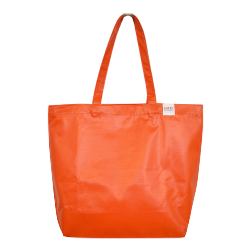 Tarpaulin bag for Lotte CSR promotion
