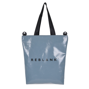 TYPOGRAPHY CROSS BAG _ REBLANK